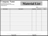 Example Bill Of Materials Manufacturing And Sample Computation Of Bill Of Materials